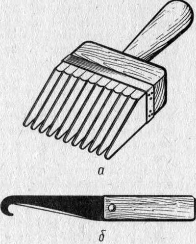 Инструменты для создания гобелена.
