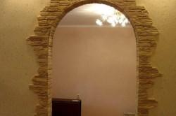 Облицовка арки