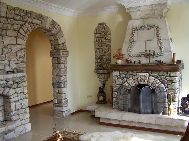 Преимущества декоративного камня