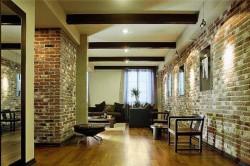 Декоративный камень в интерьере помещения