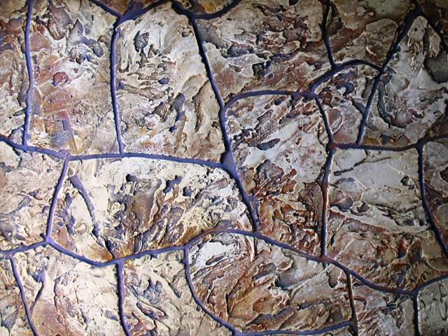 Фактурный декоративный камень.