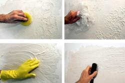 Нанесение декоративной штукатурки своими руками.