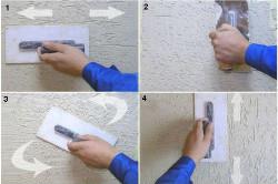 Способы нанесения штукатурки